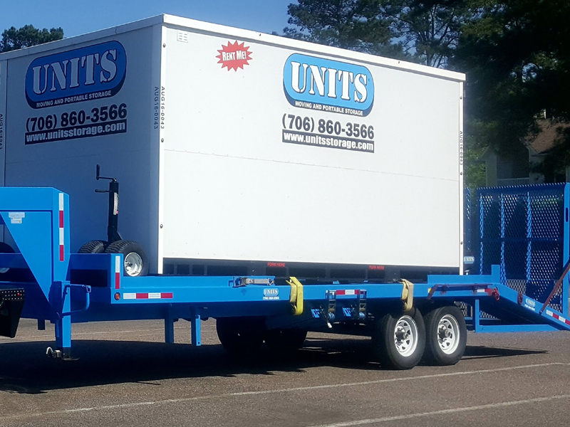 best UNITS Storage movers, best pods UNITS Storage company